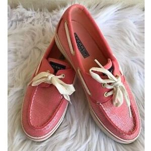 Sperry Top Sider Boat Shoes Sequin